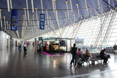 Aéroport international de Changhaï Pudong Photographie stock libre de droits
