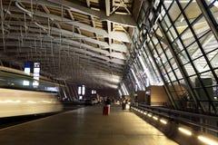 Aéroport international de Changhaï Pudong du départ Photographie stock libre de droits