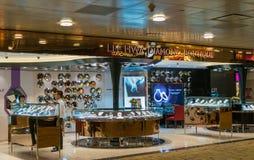 Aéroport international de Changi à Singapour Photographie stock libre de droits