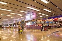 Aéroport international de Changi à Singapour Image stock