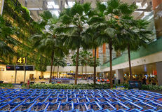 Aéroport international de Changi Image stock