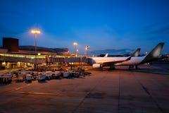 Aéroport international de Changi Images libres de droits