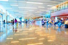 Aéroport international de Changi, Singapour Photo libre de droits