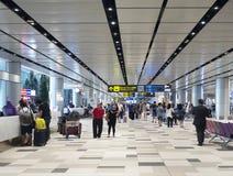 Aéroport international de Changi, terminal 4 Photographie stock libre de droits