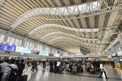Aéroport international de Chengdu Shuangliu Photos libres de droits