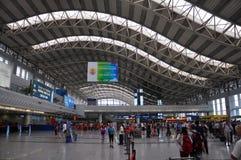 Aéroport international de Chengdu Shuangliu, Chine Image stock