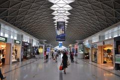 Aéroport international de Chengdu Shuangliu, Chine Images stock