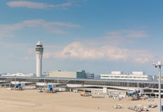 Aéroport international de Chubu Centrair au Japon Image libre de droits