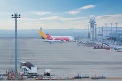 Aéroport international de Chubu Centrair au Japon Image stock