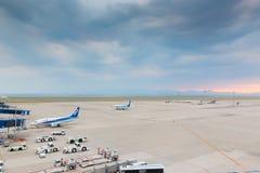 Aéroport international de Chubu Centrair au Japon Photographie stock libre de droits