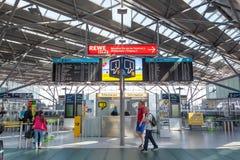 Aéroport international de Cologne Bonn Image libre de droits