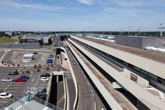 Aéroport international de Cologne Bonn, Allemagne Images libres de droits