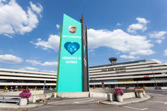 Aéroport international de Cologne Bonn, Allemagne Image stock