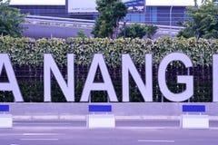 Aéroport international de Da Nang Photos stock