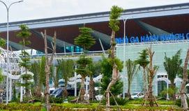 Aéroport international de Da Nang Images libres de droits