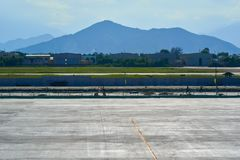 Aéroport international de Da Nang Image stock