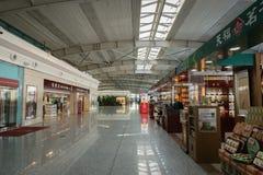 Aéroport international de Dalian Zhoushuizi en Chine Images stock