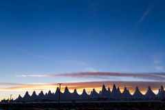 Aéroport international de Denver Image stock
