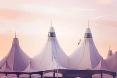 Aéroport international de Denver Photo libre de droits