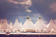 Aéroport international de Denver Photographie stock libre de droits