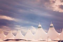 Aéroport international de Denver Photo stock