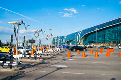 Aéroport international de Domodedovo Photographie stock