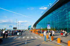 Aéroport international de Domodedovo Photo libre de droits