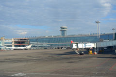 Aéroport international de Domodedovo, Moscou, Russie Photo libre de droits