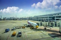 Aéroport international de Don Mueang Photo stock