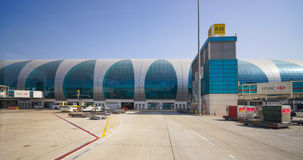 Aéroport international de Dubaï Image libre de droits