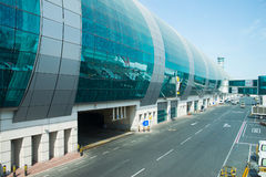 Aéroport international de Dubaï Photo stock