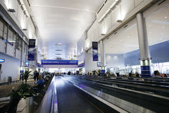 Aéroport international de Dubaï Images libres de droits