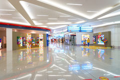 Aéroport international de Dubaï Photos libres de droits