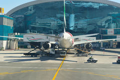 Aéroport international de Dubaï Image libre de droits