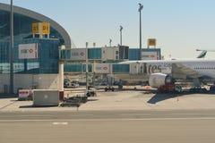 Aéroport international de Dubaï Photo libre de droits