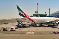 Aéroport international de Dubaï Photos stock