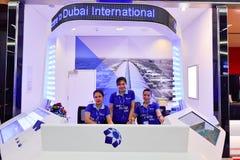 Aéroport international de Dubaï Images libres de droits