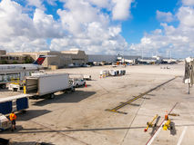 Aéroport international de Fort Lauderdale, la Floride, Etats-Unis Images stock