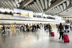 Aéroport international de Francfort à Francfort, Allemagne Photo libre de droits