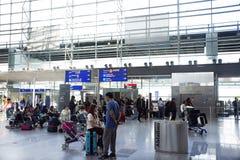 Aéroport international de Francfort à Francfort, Allemagne Images libres de droits