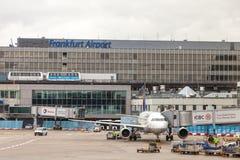 Aéroport international de Francfort Photographie stock libre de droits
