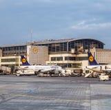 Aéroport international de Francfort du terminal 1 Photo stock