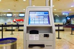 Aéroport international de Genève Image libre de droits