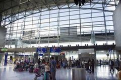 Aéroport international de GermanFrankfurt à Francfort, Allemagne Images libres de droits