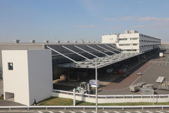 Aéroport international de Haneda à Tokyo, Japon Photographie stock
