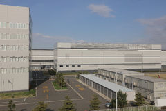 Aéroport international de Haneda à Tokyo, Japon Photo stock