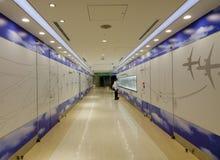 Aéroport international de Haneda à Tokyo, Japon Photographie stock libre de droits