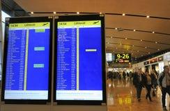 Aéroport international de Helsinki Image libre de droits