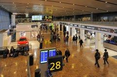 Aéroport international de Helsinki Image stock