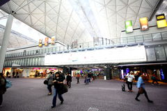 Aéroport international de Hong Kong Images stock